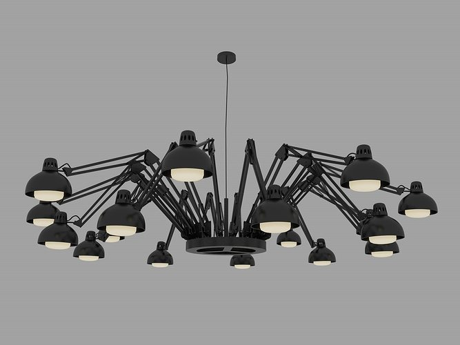 3d model moooi dear ingo pendant light cgtrader. Black Bedroom Furniture Sets. Home Design Ideas