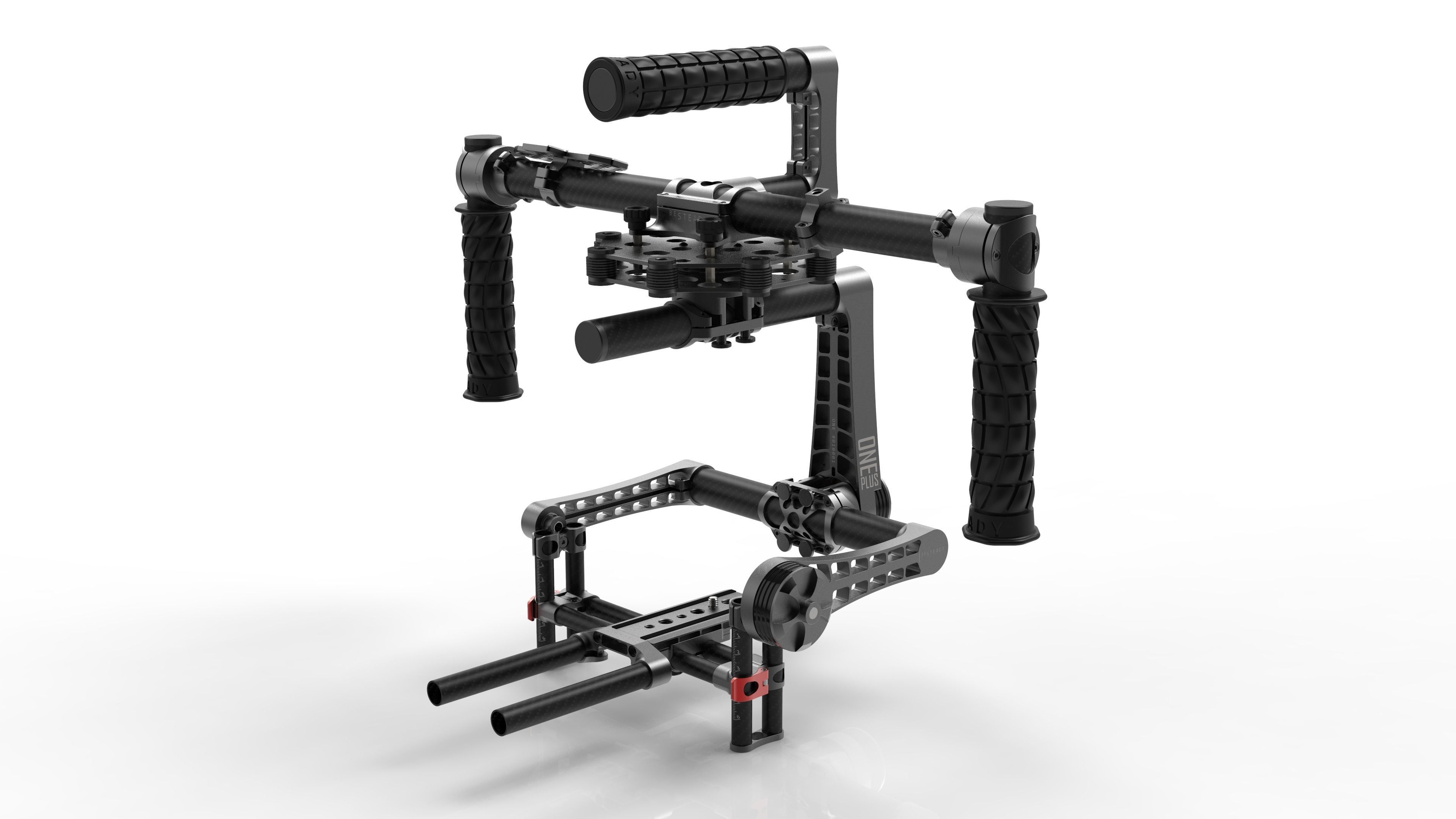 3 Axis Camera Stabilizer Gimbal BeSteady ONE Plus CAD