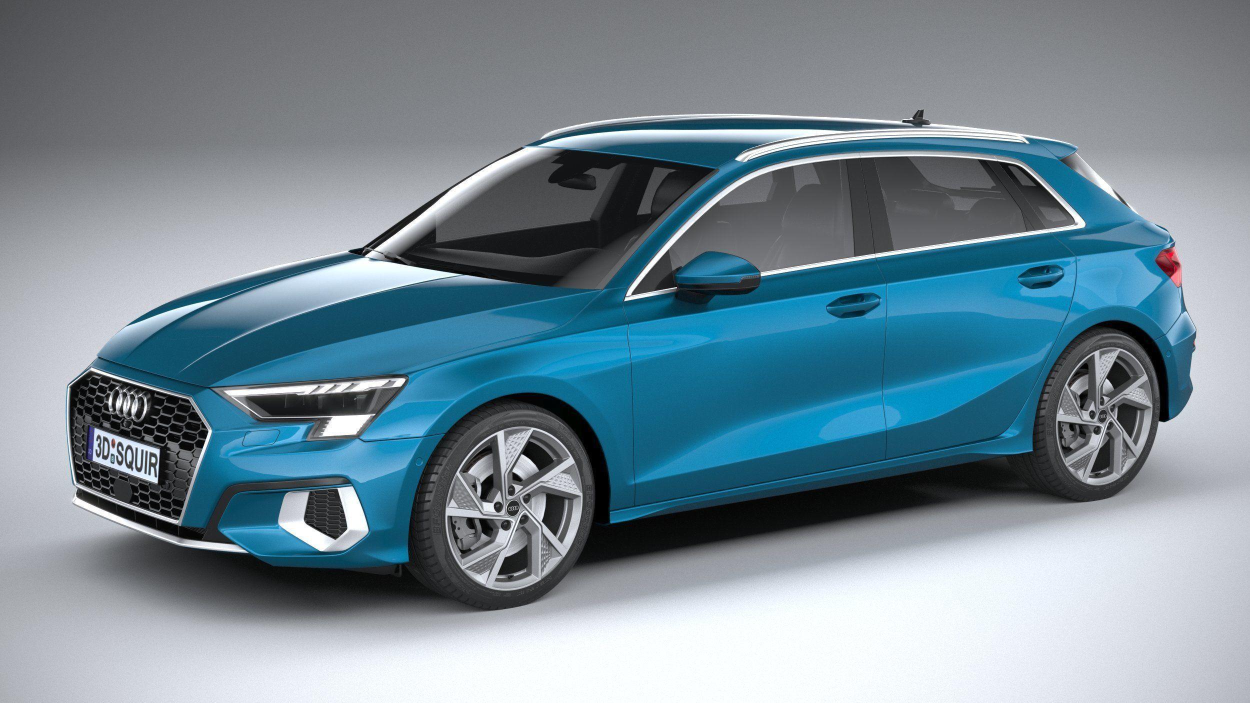 3D Audi A3 2021 | CGTrader
