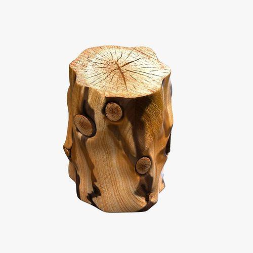 tree trunk coffee table nz natural stump side uk diy west elm model max obj