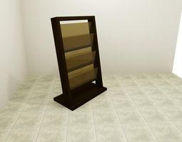 3D printable model Newspaper rack