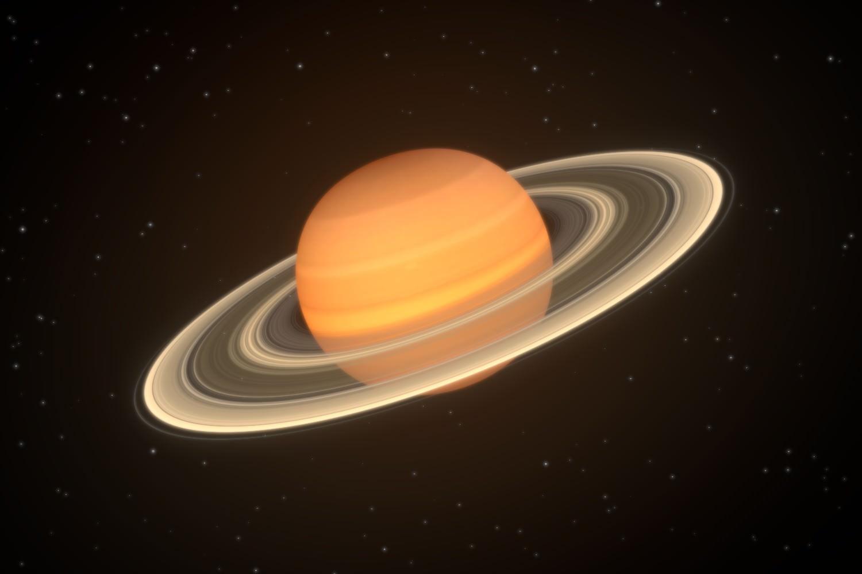 Saturn 3D Model .blend - CGTrader.com