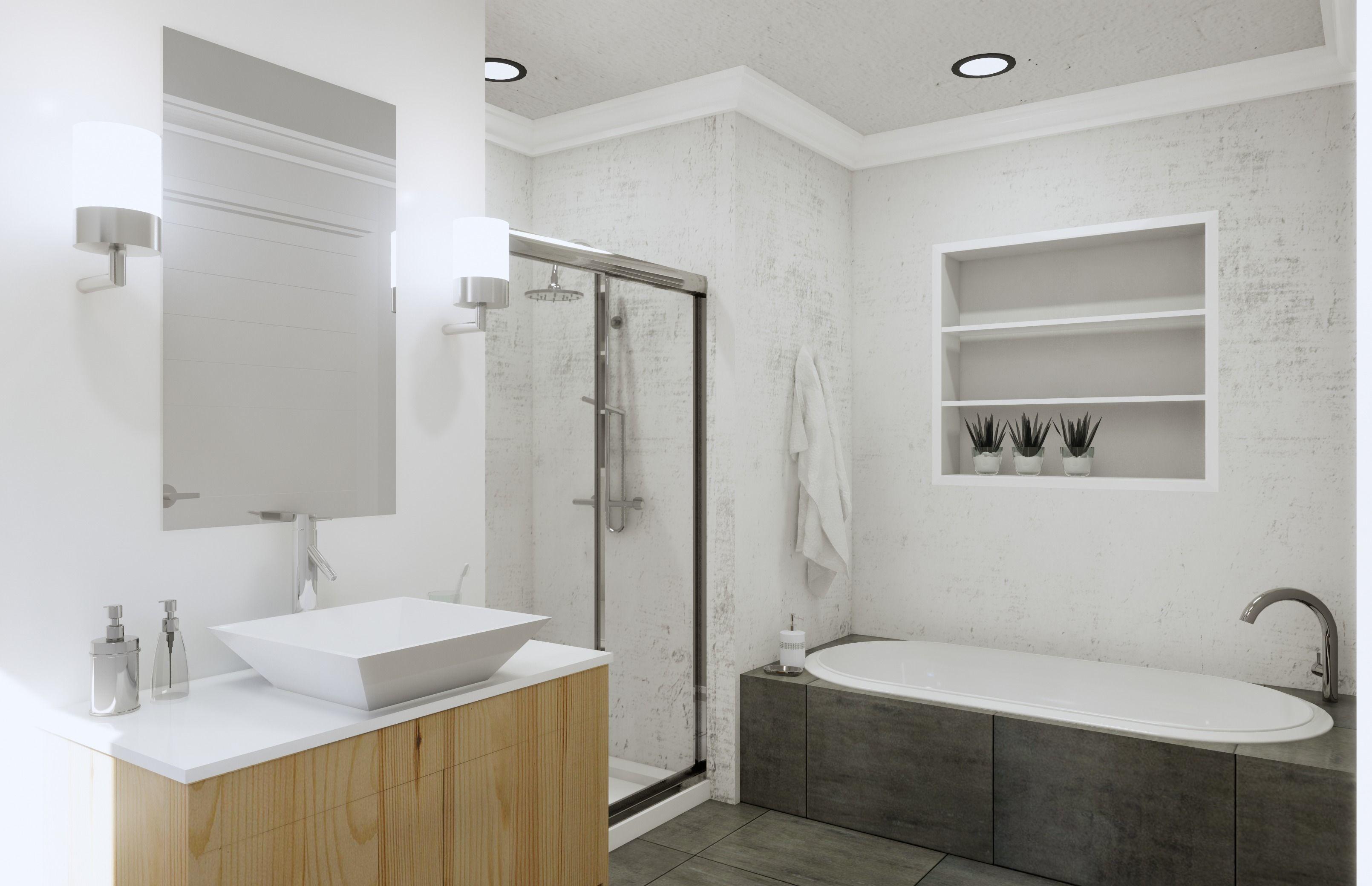 Bathroom Revit Model Scene low-poly | CGTrader on Bathroom Model  id=96175