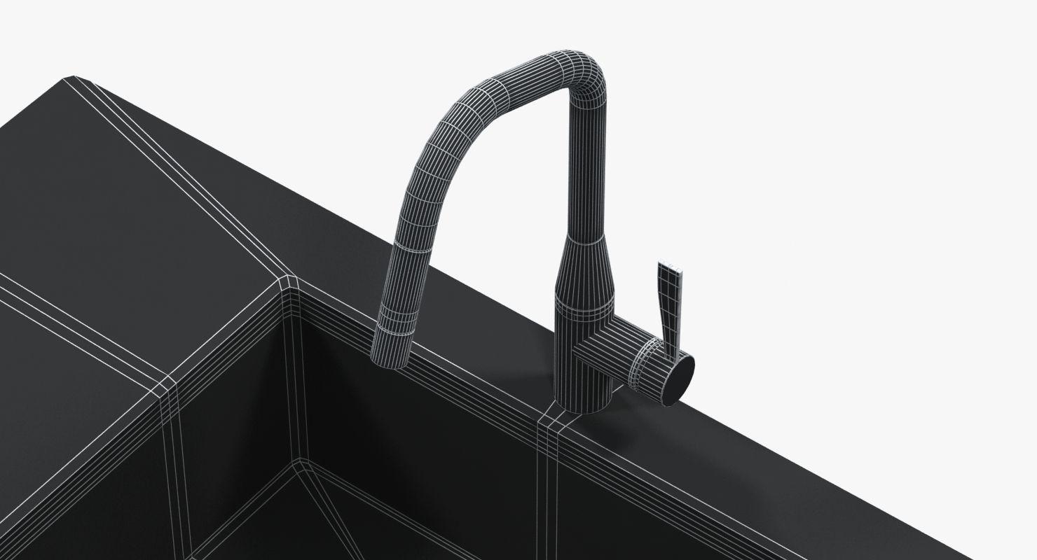 3D model Kitchen faucet Dornbracht SYNC | CGTrader