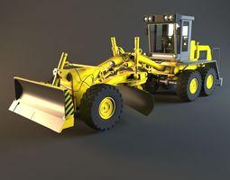 3D model Tractor machine