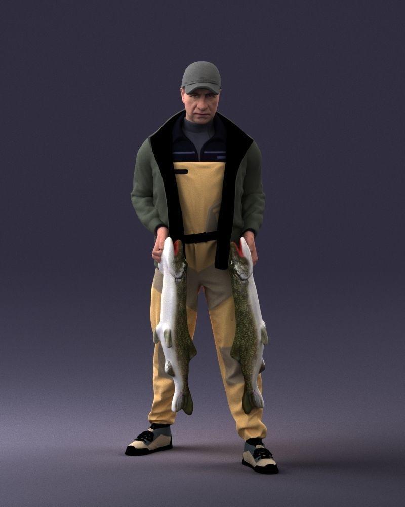 Fisherman 1102 3D Print Ready