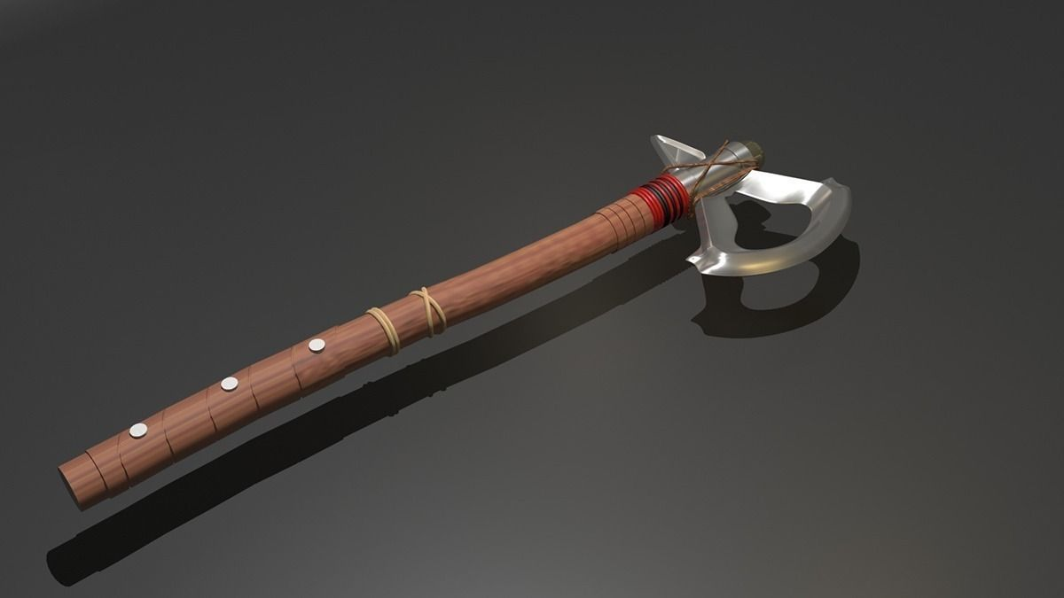 Tomahawk Assassins Creed 3d Cgtrader