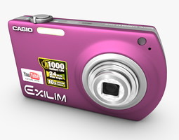 Small Casio Exilim Digital Camera 3D Model