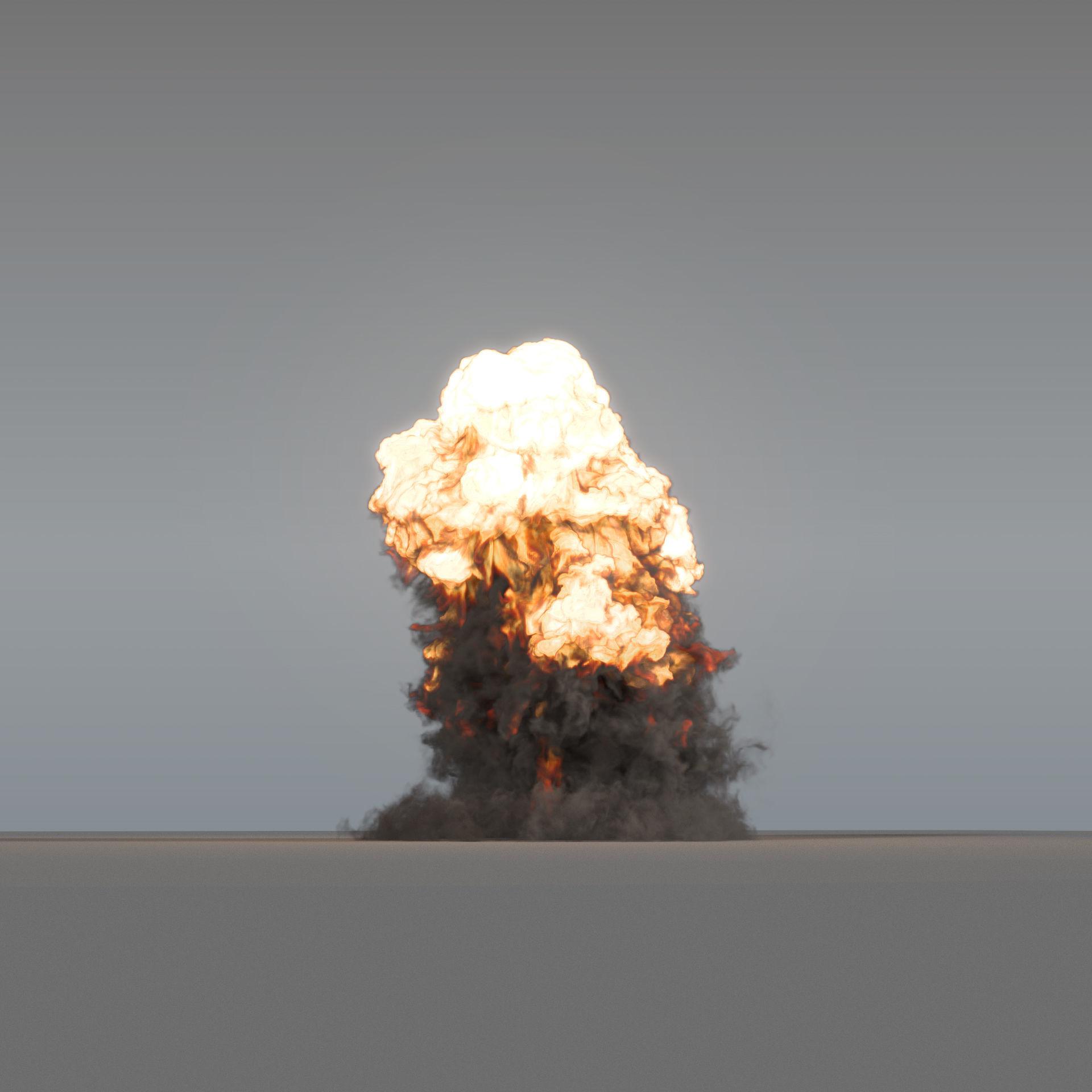 Explosion 03 - VDB