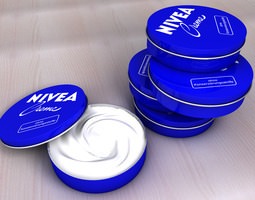 Nivea Creme Can 3D model