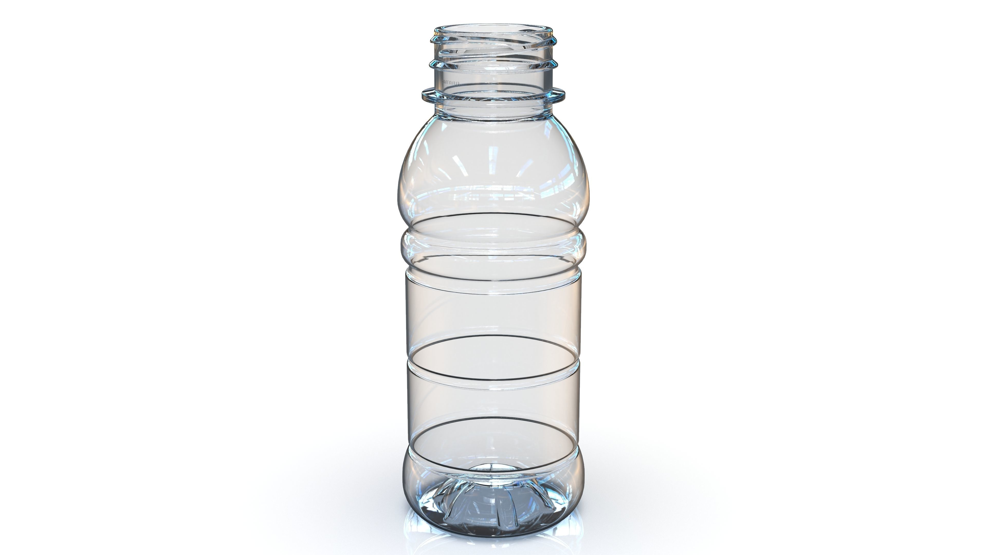 PET Bottle  PCF - 38P - 1 - Round 250 mL - for water - drinks