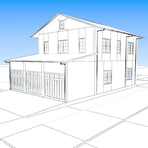 how to make a house in 3ds max