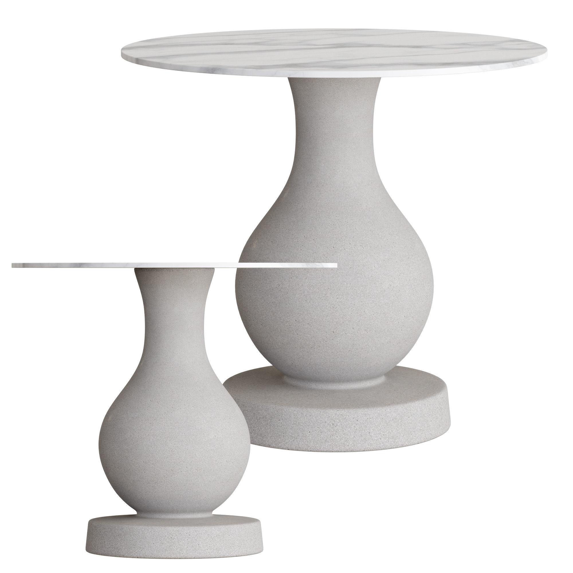 Slide Ottocento medium table