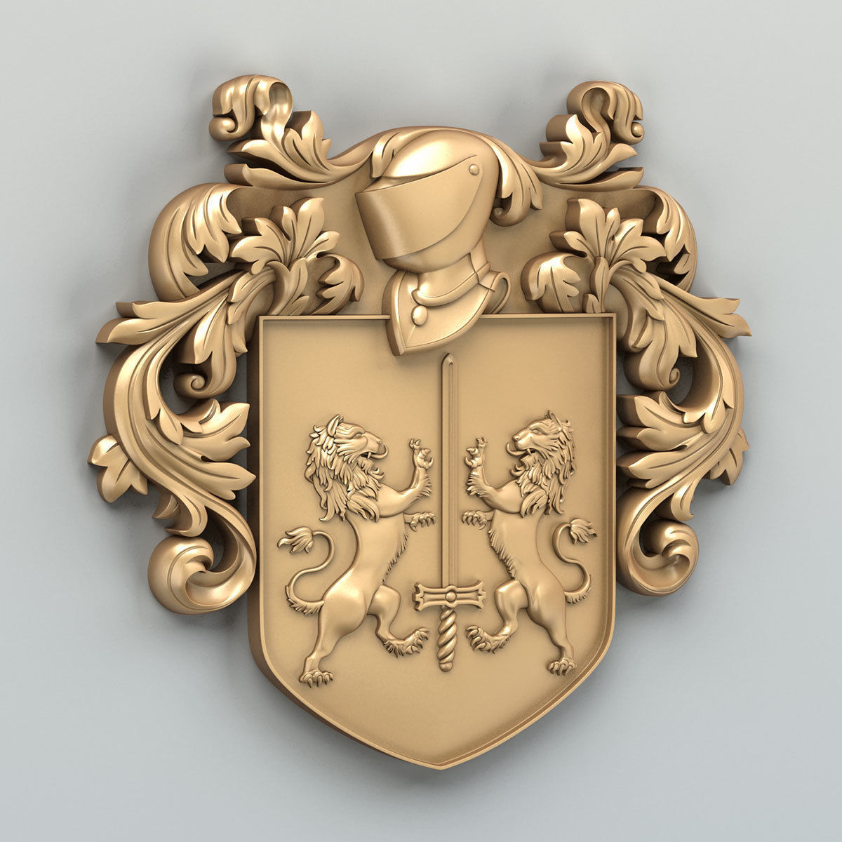 Coat of arms decorative 002