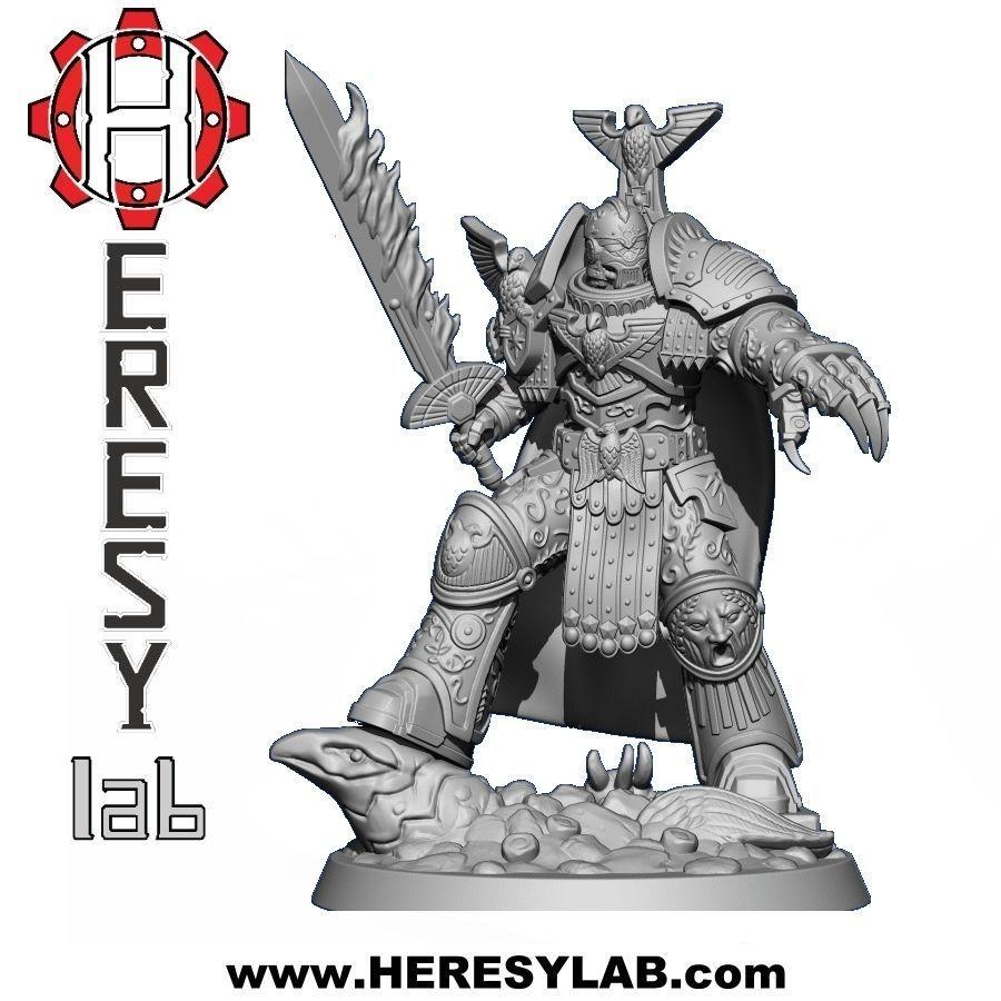 Heresylab - Golden Eagle Knight