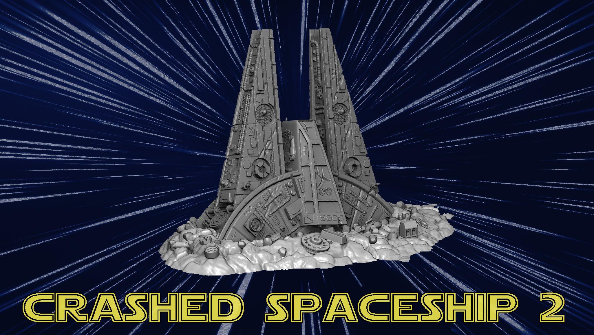 Crashed spaceship 2