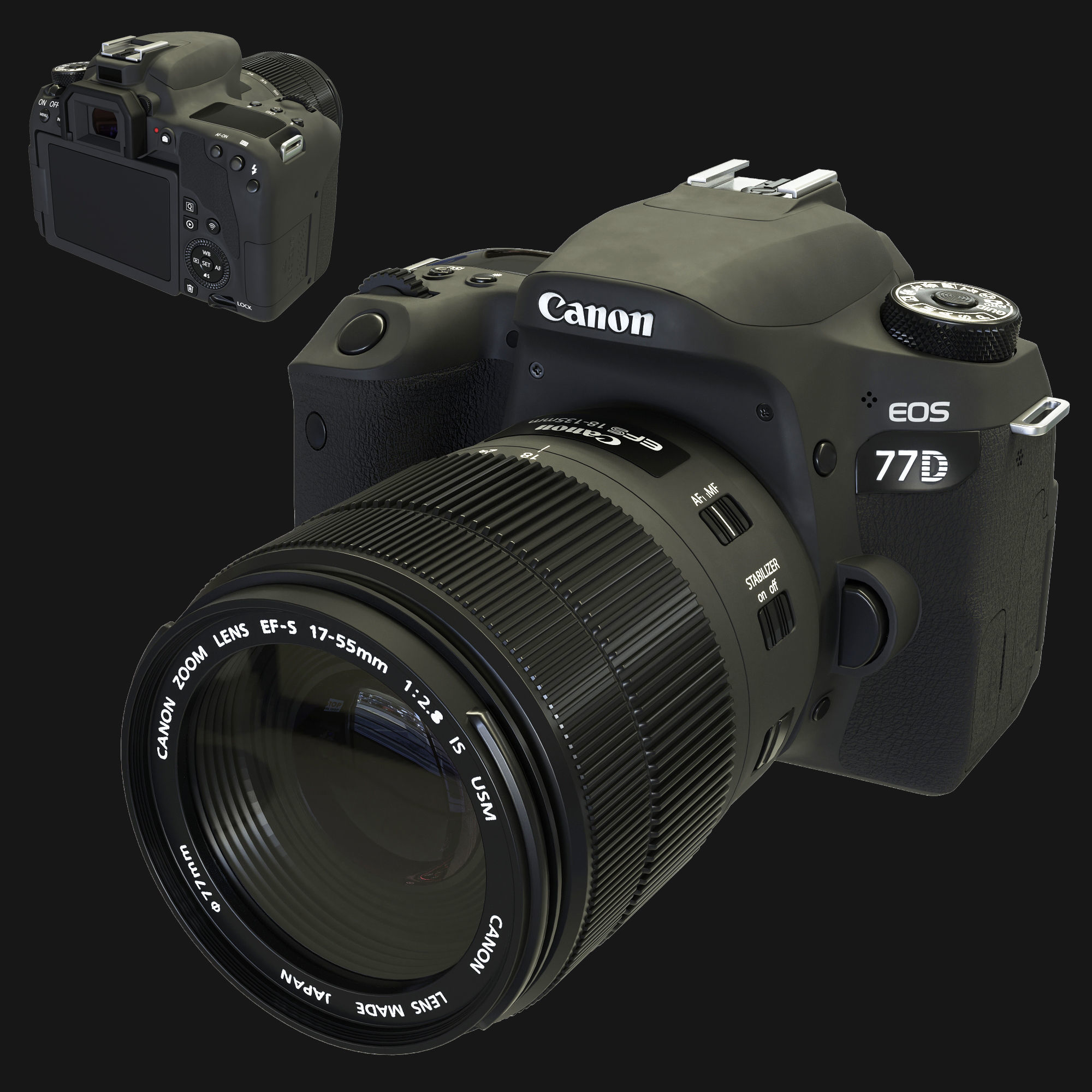 Camera Canon Eos 77d