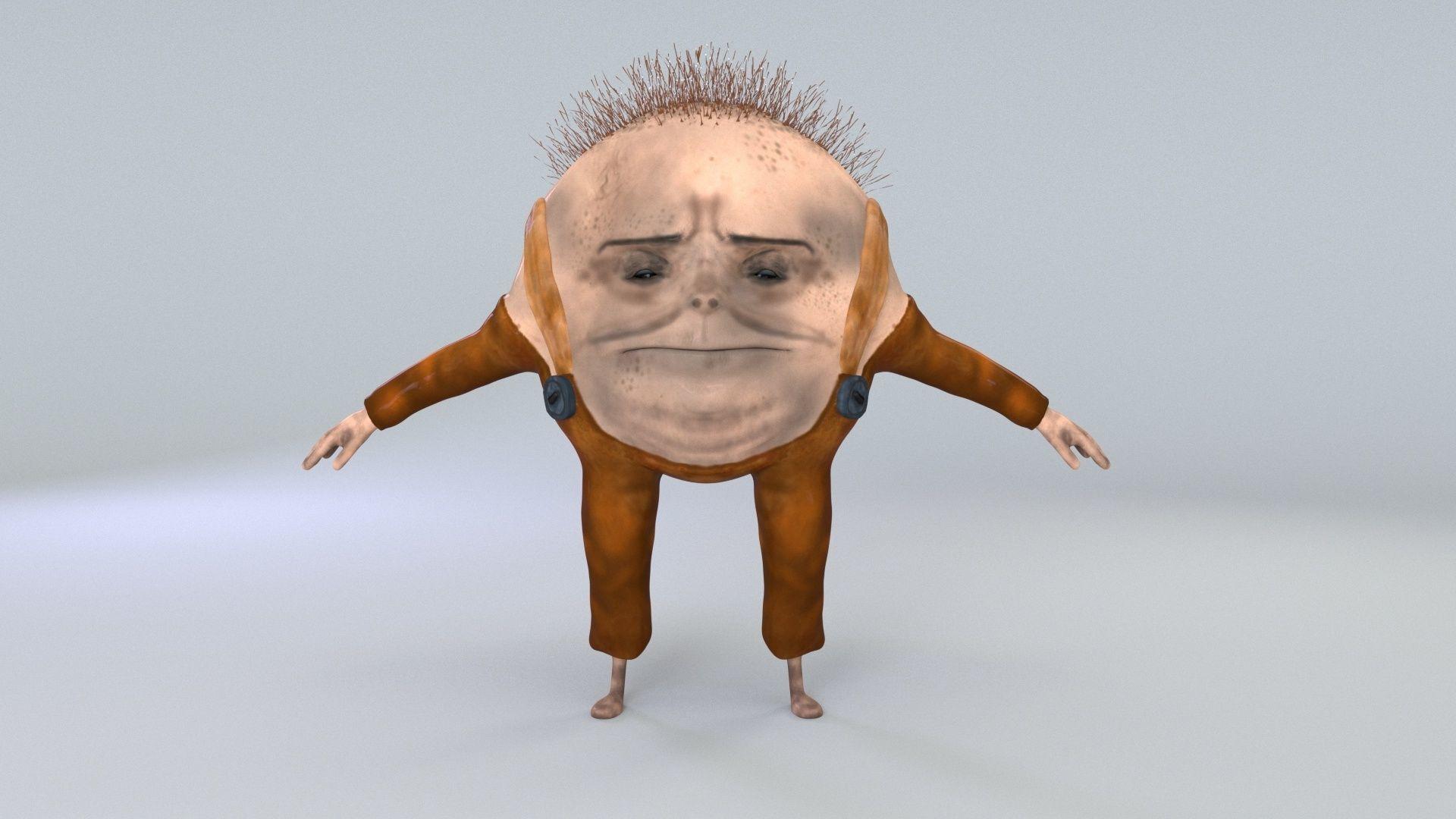 cartoon character humpty dumpty dirty