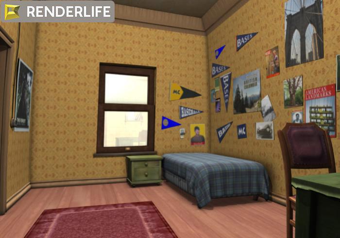 vintage 3d room - photo #38
