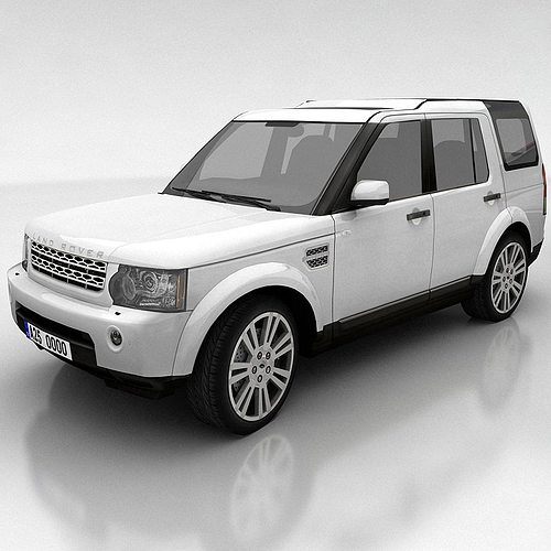 Used Land Rover Discovery 4 Suv For Sale: 3D Model Land Rover Discovery 4