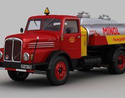 IFA S4000-1 Tank Truck MINOL 3D Model