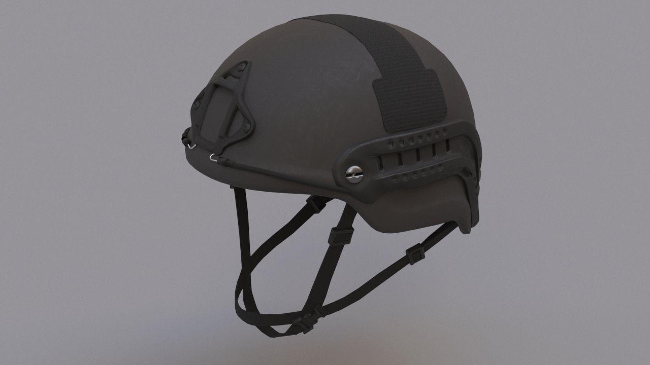 Ops Core Sentry mid cut military helmet black