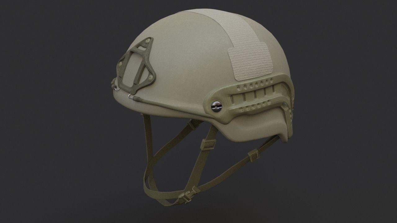 Ops Core Sentry mid cut military helmet foliage green