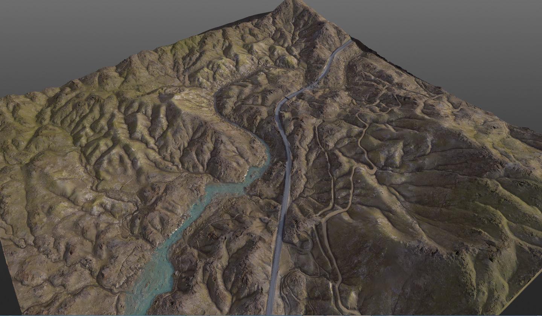 Valley 8K Terrain PBR