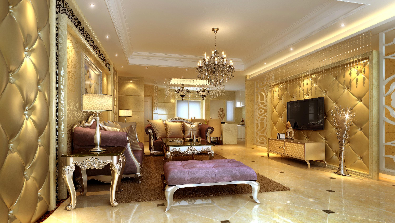 Luxurious living room 3d model living room e72 3d model luxury