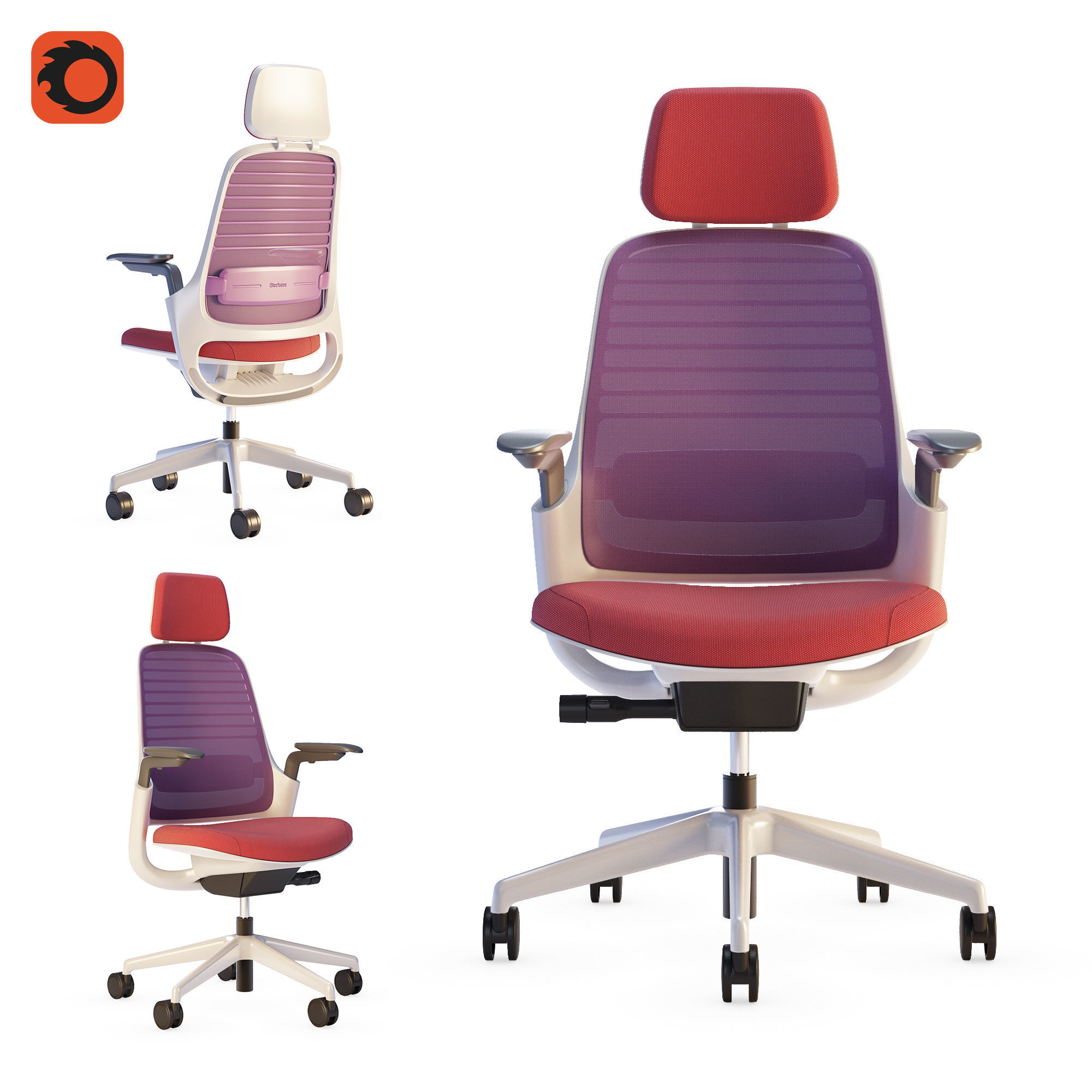 Steelcase - Office Chair Series1