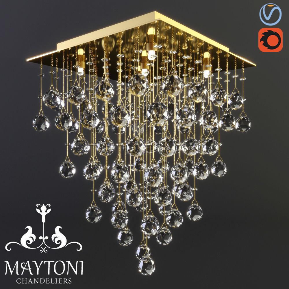 Maytoni Modern Swirl MOD217-40-G