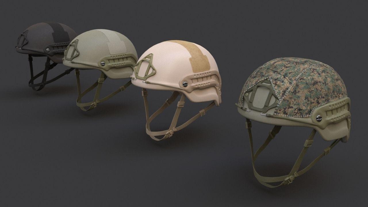 Ops Core Sentry mid cut military helmet