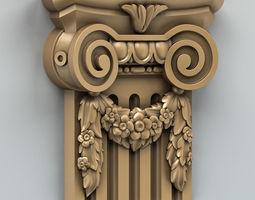 Column Capital 004 3D model