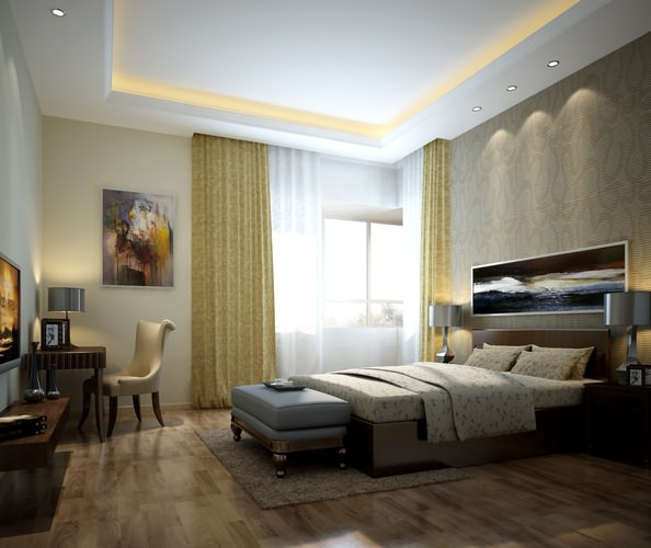 3d Small Bed Room Cgtrader