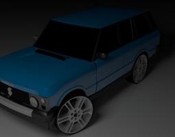 Land Rover Range Rover 1980s 3D model