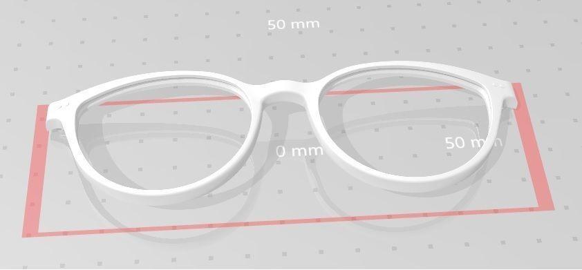 Eye-glasses front
