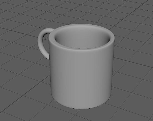 One Mug Coffee Maker Model Wm 6101 : Coffee Mug 3D model CGTrader
