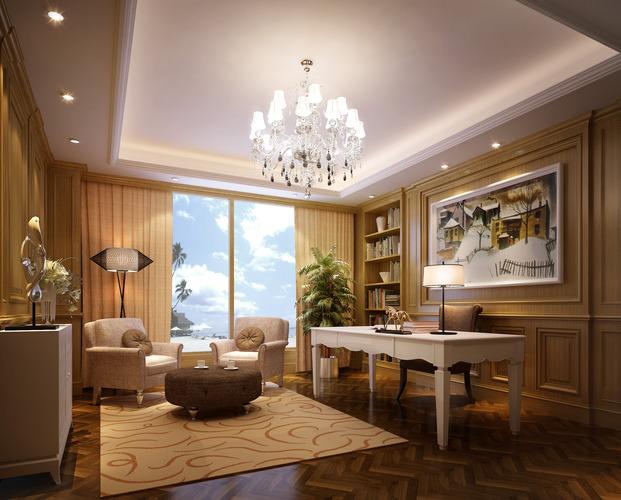 Cozy Work Room3D model
