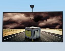 LCD Big Screen MAX 2011 3D model
