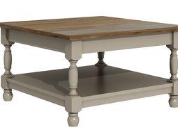 3D tabletop modern table