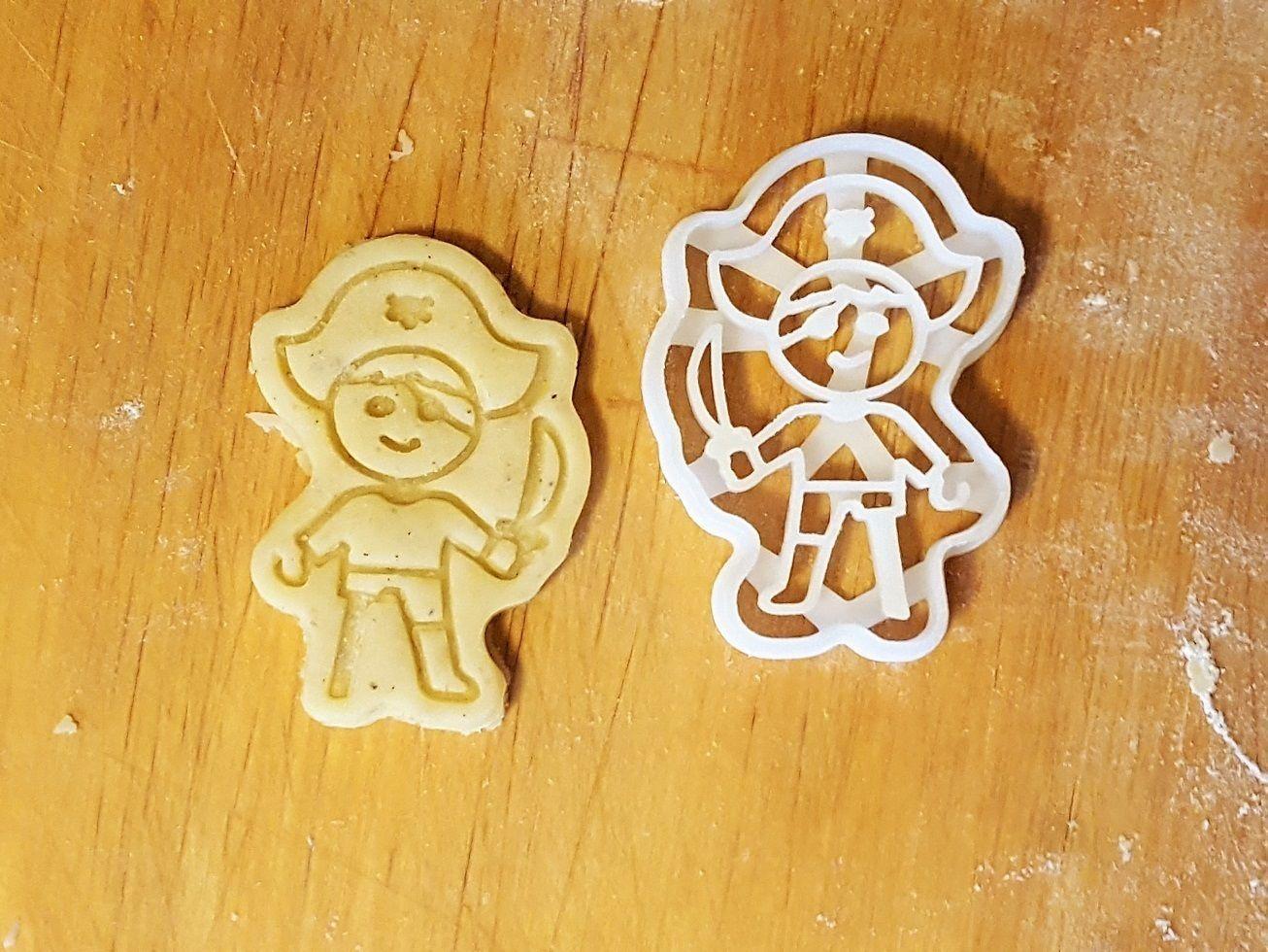 Pirate cookie cutter