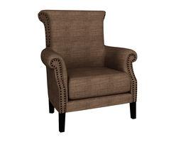 Modern Armchair armchair 3D model