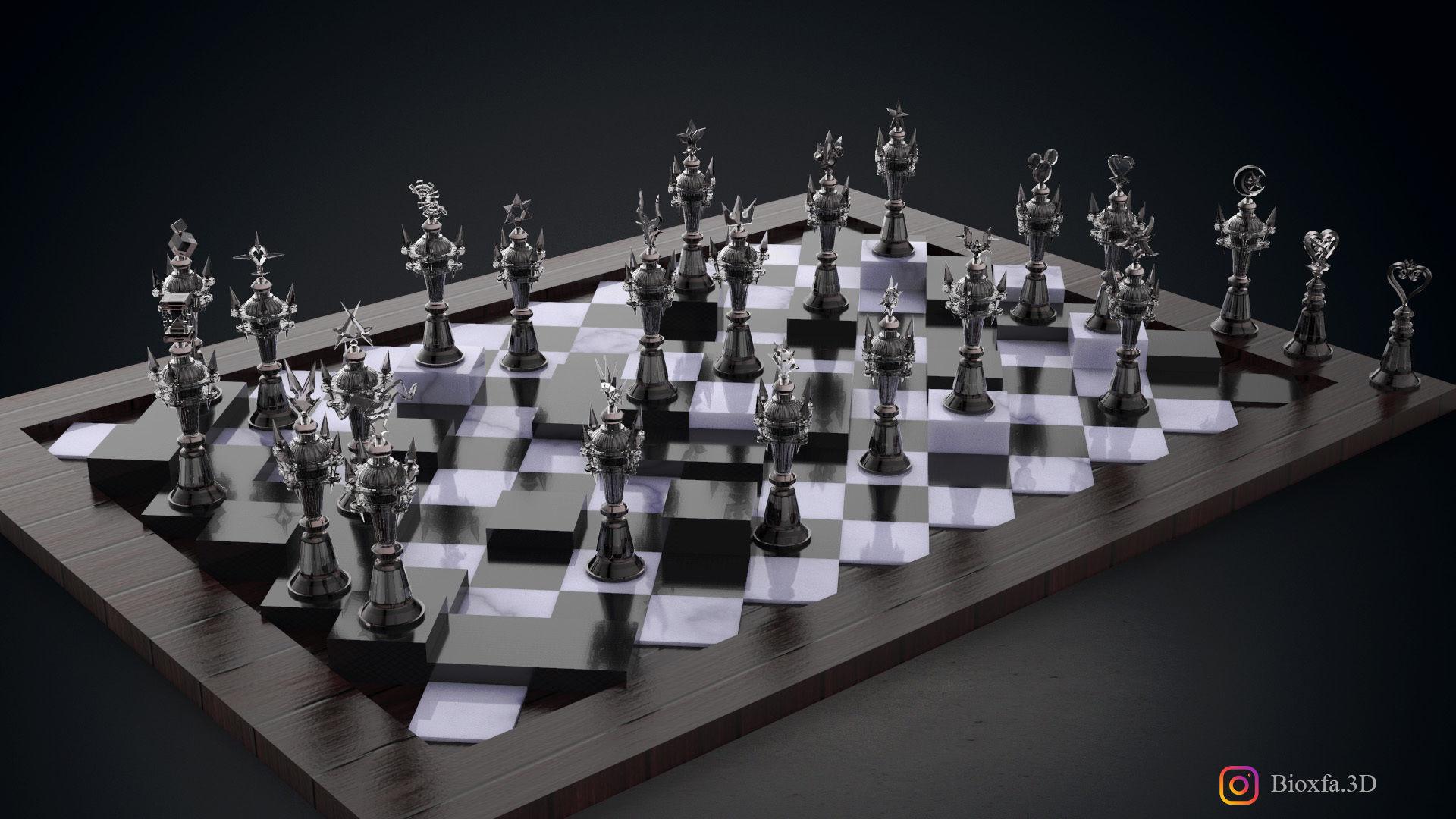 Kingdom Hearts  Chess