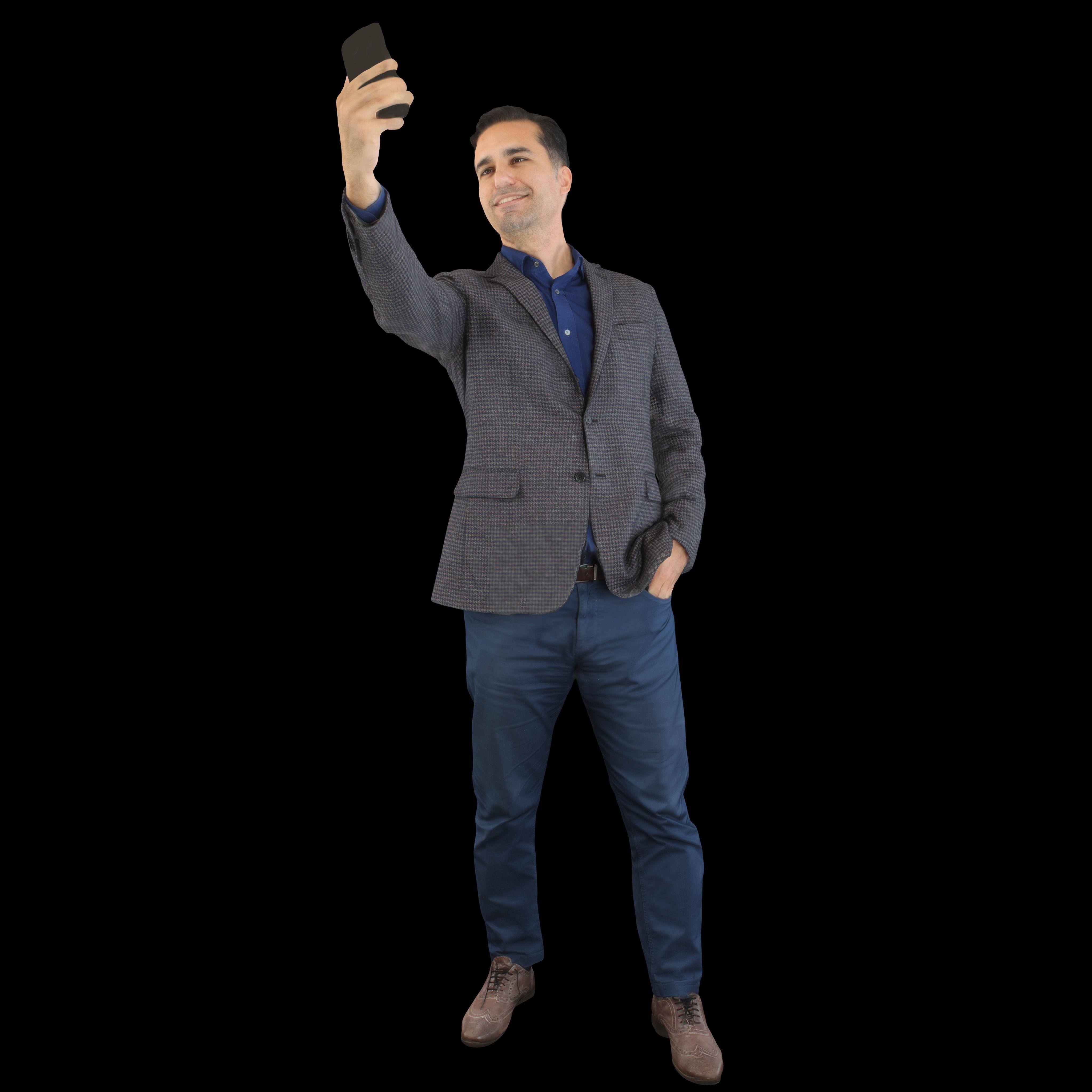 No347 - Selfie Guy