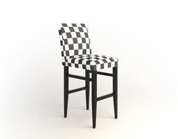3D model madison bar stool