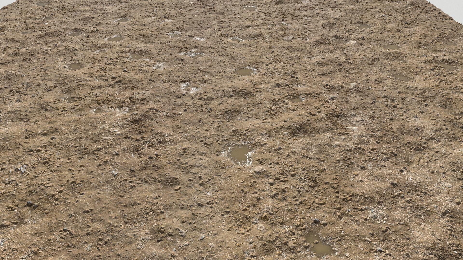 Rough Rocky Terrain PBR 3