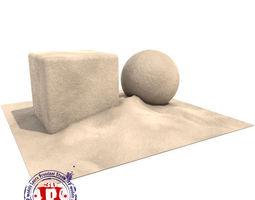 Sand procedural shader 3D