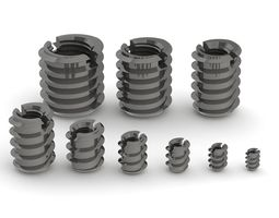 Kit of DIN 7965 slotted anchor nuts 3D model