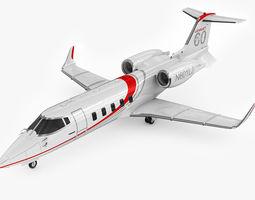 Bombardier Learjet 60 3D Model