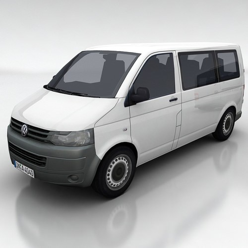 VW Transporter 5a3D model